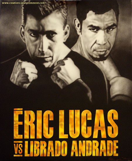 Éric Lucas vs Librado Andrade aribrush