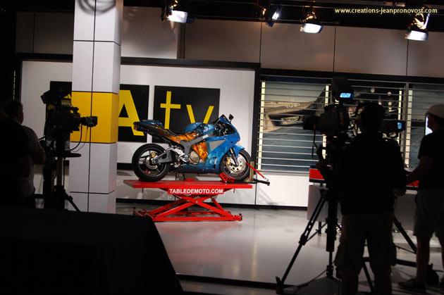 Moto airbrush Montreal