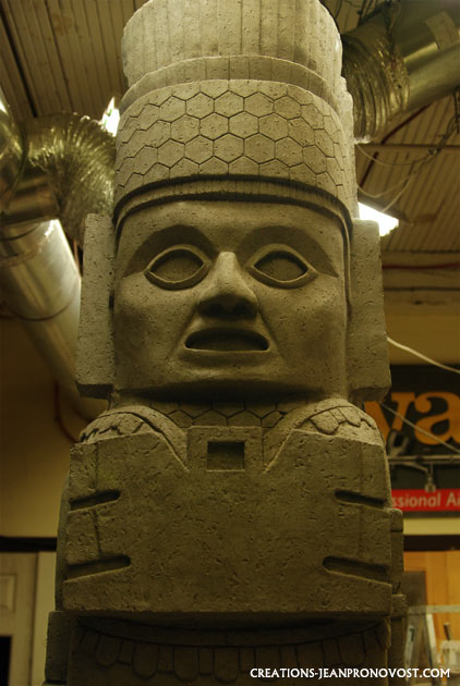 reproduction de sculpture ancienne, colpies de sculpture maya, sculpture maya, sculpture tolteque, sculpture precolombienne