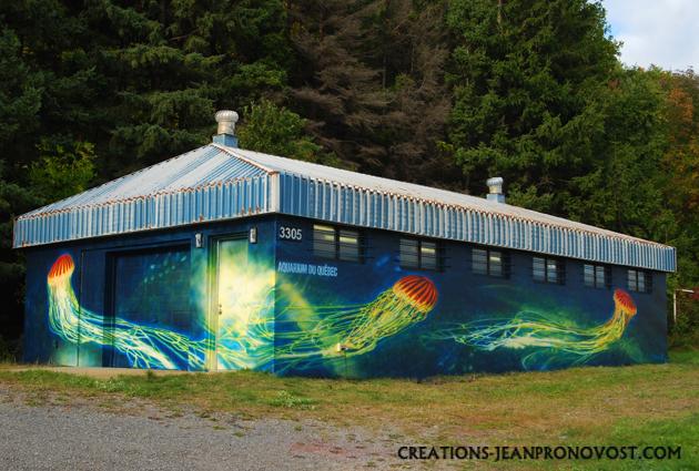 mural, exterior mural, airbrush mural