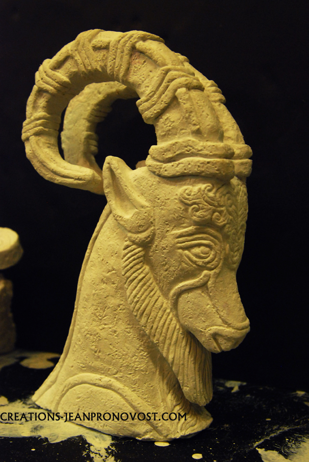 sculpture , ancient sumerian scupture, ancient civilisation sculpture reproduction