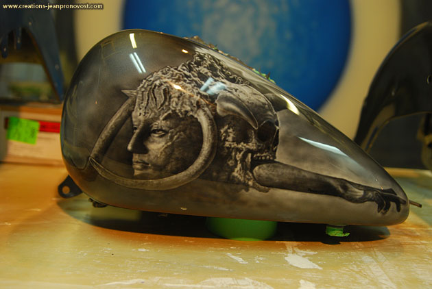 aibrush Montreal skull