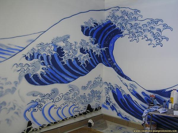 Murale au airbrush
