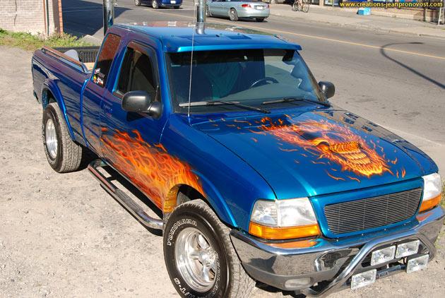 Airbrush sur camion