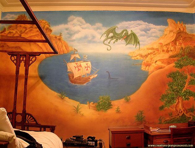 Murale pour chambre d'enfant