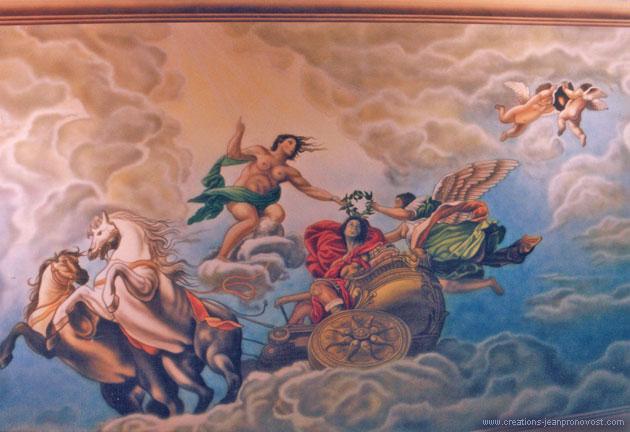 Fresque de style renaissance