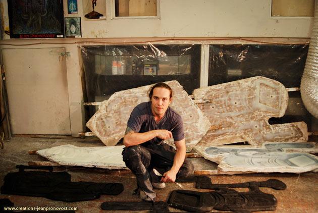 Jean Pronovost, sculptor artist Montreal, Quebec, Canada