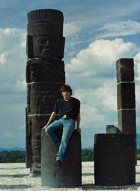precolombian art reproduction, copie d'art maya, moulage d'art precolombien, moulage azteque, sculpture tolteque, atlante de tula