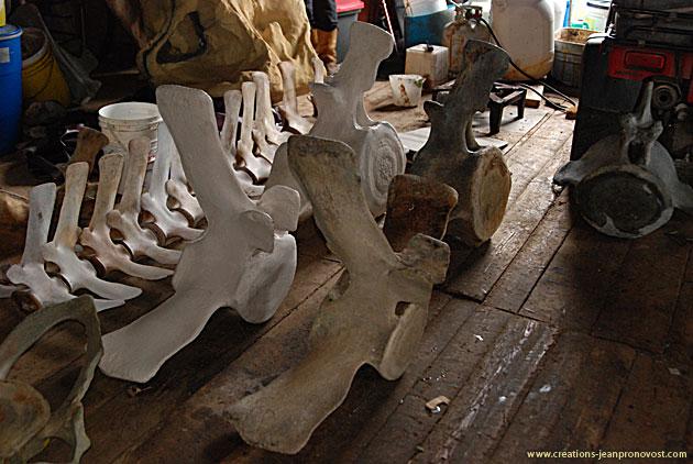 Les Créations Jean Pronovost sont spécialisés en sculpture et peuvent réaliser des moulages de tout objet ou formes