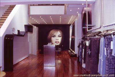 Brigitte Bardot mural