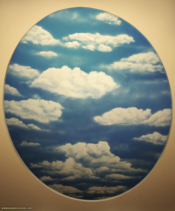 Ciel peint au airbrush