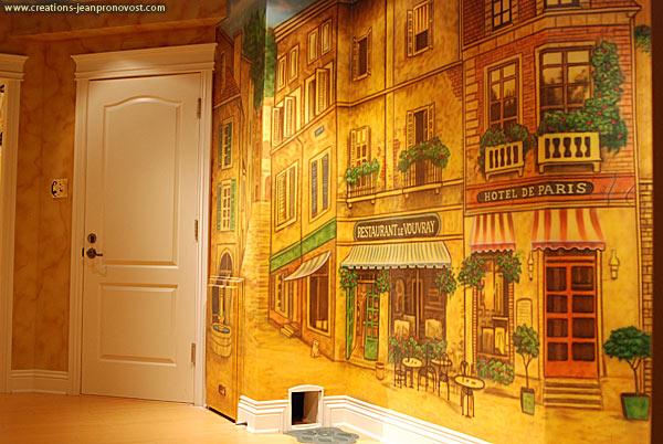 Murale et faux fini