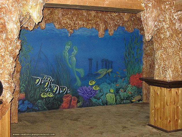Murale et relief