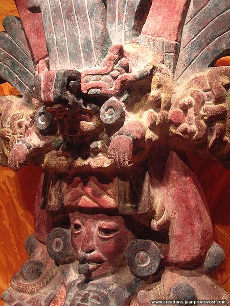 Sculpture décorative Aztec