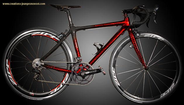 Bicyclette Personnalisée au airbrush