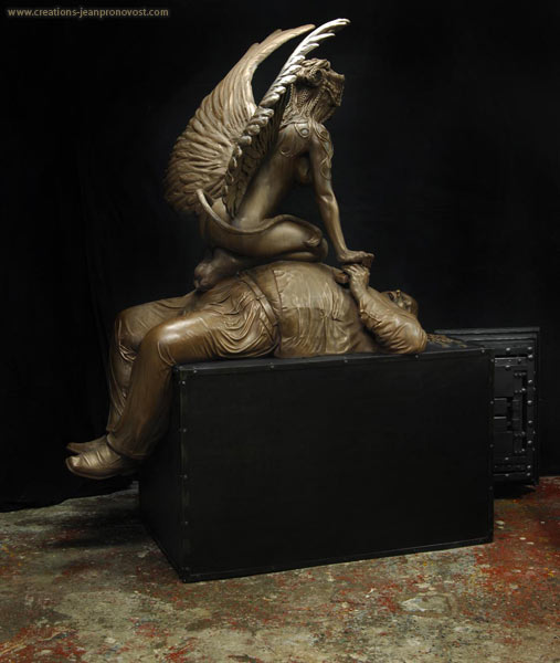 Art visionnaire - Jean Pronvost - Sculpture
