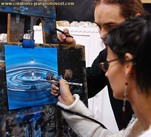 Freehand airbrush classes Montreal