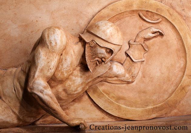 Reproduction de sculpture ancienne de qualité musée