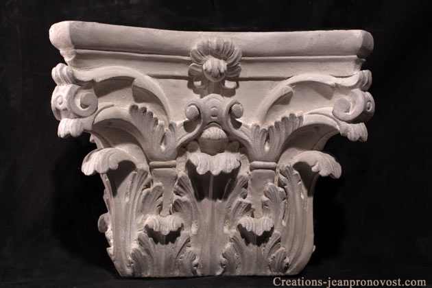 corynthian capital for sale in quebec, greek capital canada, outdoor decoration quebec