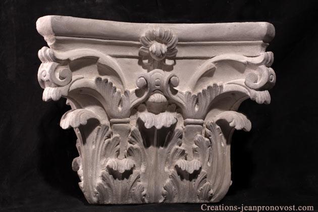 colonne grecque à vendre au quebec, colonne corynthienne canada, decoration exterieur classique quebec