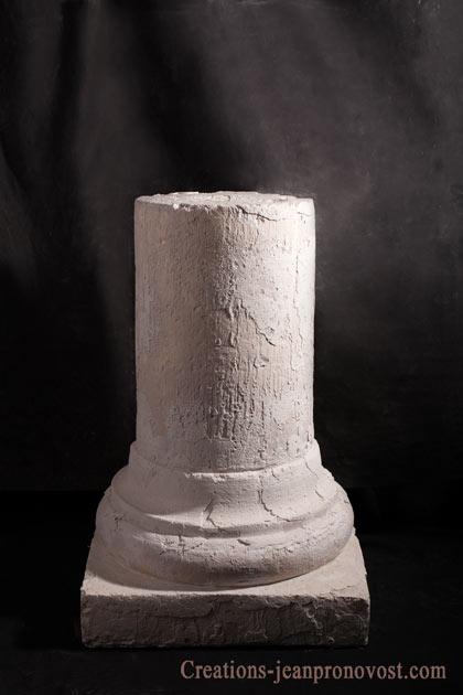 colonne grecque, sculpture quebec