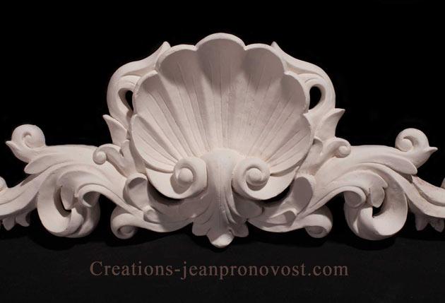 decoration interieur classique, relief renaissance, ornement en platre de la renaissance Quebec Canada