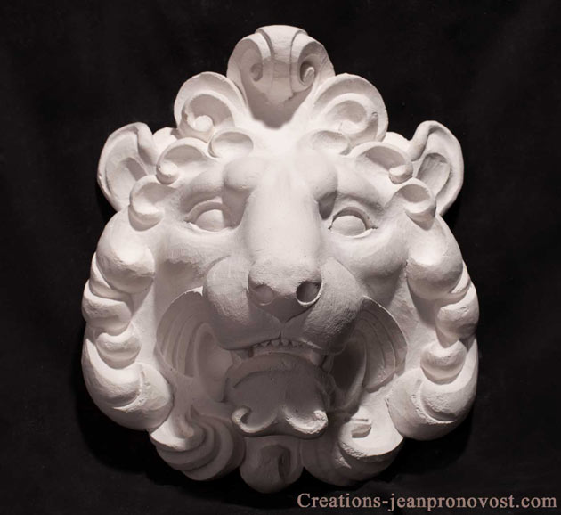 sculpture de lion, lion sculpture, sculpture animaliere, animal sculpture quebec