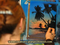 Airbrush classes, Montreal, Qc, Canada