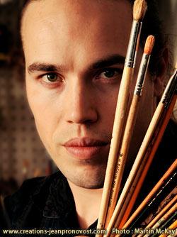 Jean Pronovost artiste peintre