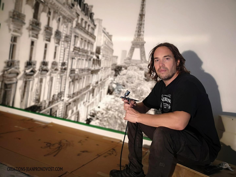 airbrush artist montreal
