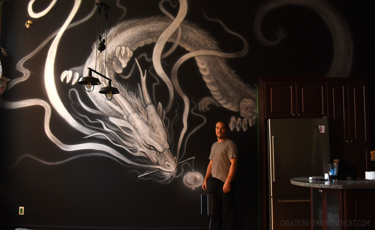 murale peinte