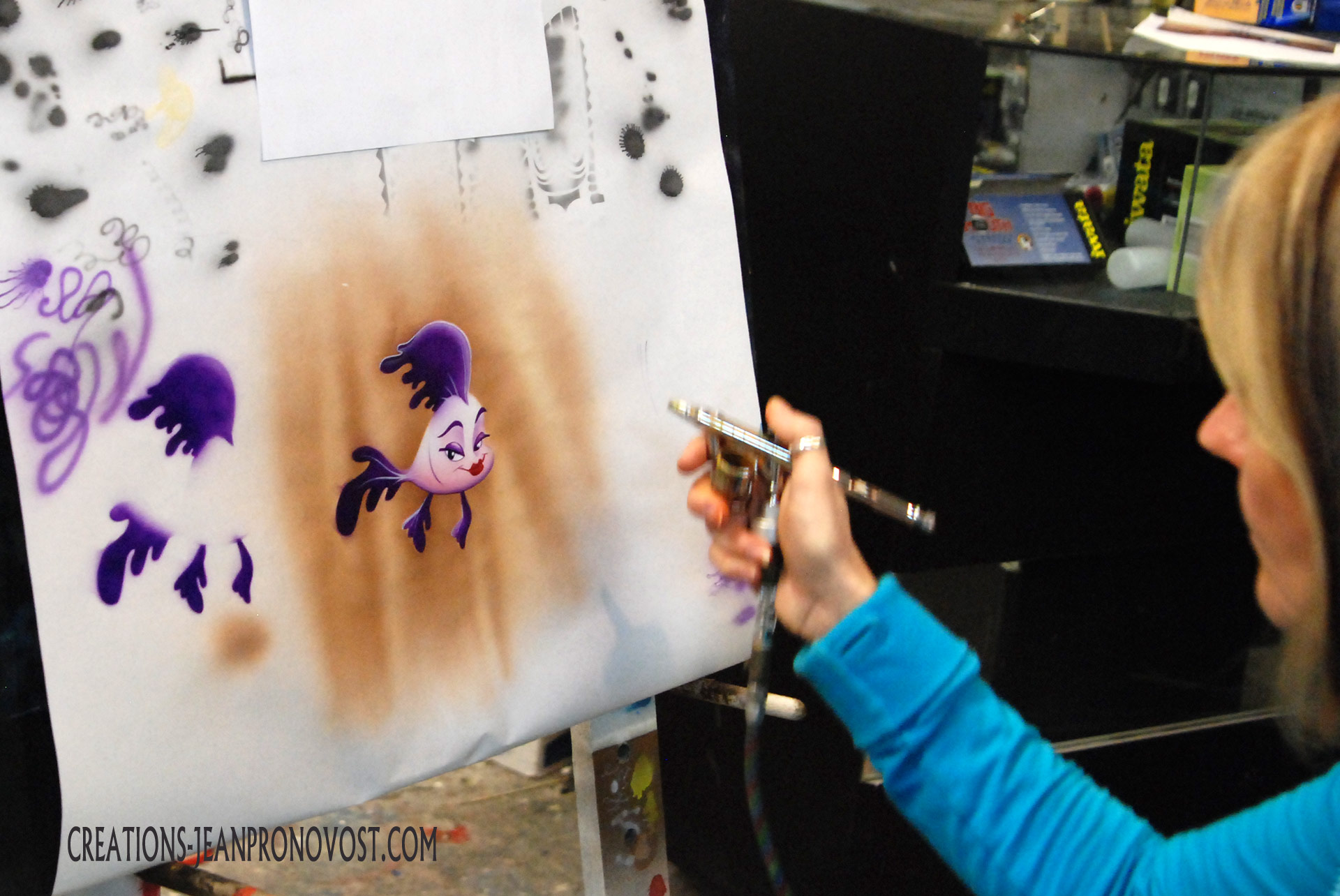 cour airbrush montreal